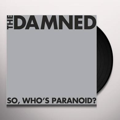 Damned SO WHO'S PARANOID Vinyl Record