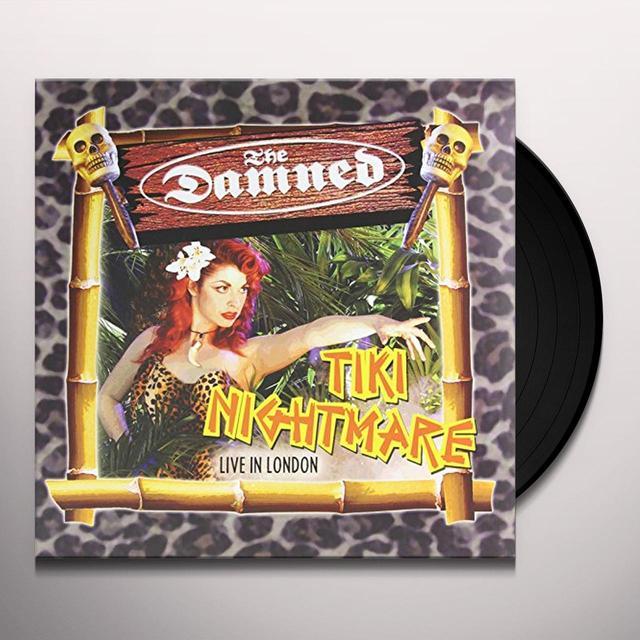 The Damned TIKI NIGHTMARE Vinyl Record