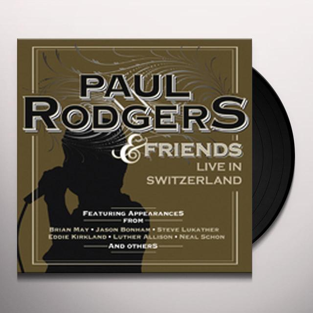 Paul Rodgers LIVE IN SWITZERLAND Vinyl Record