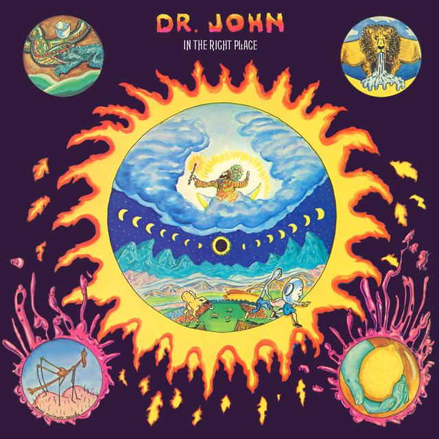 Dr. John IN THE RIGHT PLACE Vinyl Record