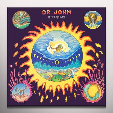 Dr. John IN THE RIGHT PLACE Vinyl Record - Colored Vinyl