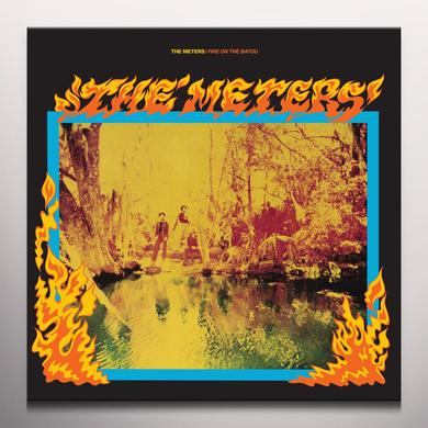 Meters FIRE ON THE BAYOU Vinyl Record - Colored Vinyl