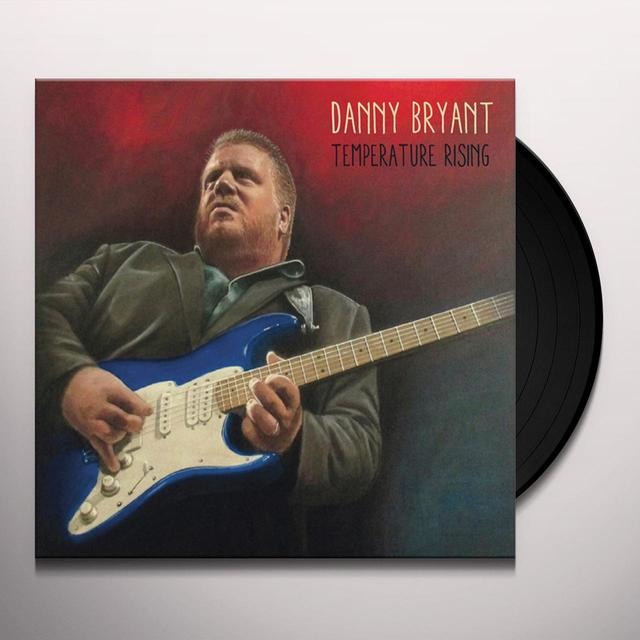 Danny Bryant TEMPERATURE RISING Vinyl Record - Gatefold Sleeve