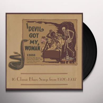 DEVIL GOT MY WOMAN: 16 CLASSIC BLUES SONGS / VAR Vinyl Record