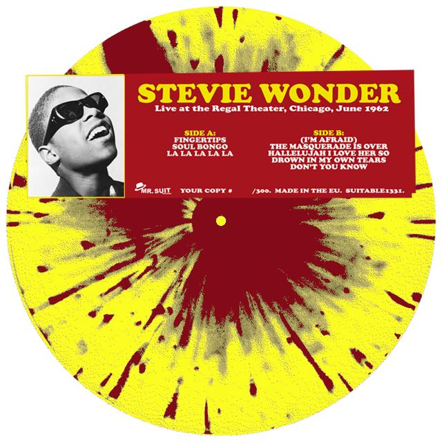Stevie Wonder LIVE AT THE REGAL THEATER CHICAGO JUNE 1962 Vinyl Record - Italy Import