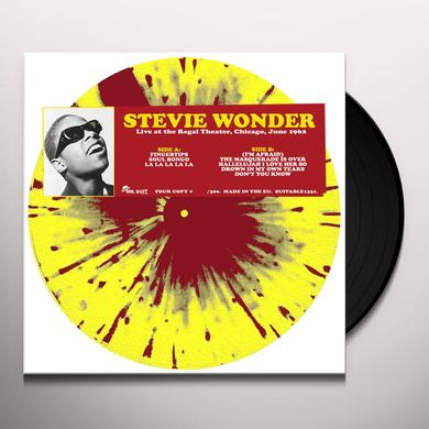 Stevie Wonder LIVE AT THE REGAL THEATER CHICAGO JUNE 1962 Vinyl Record