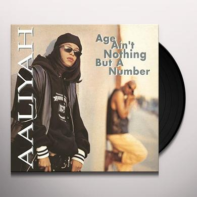 Aaliyah AGE AIN'T NOTHING BUT A NUMBER Vinyl Record - Holland Import