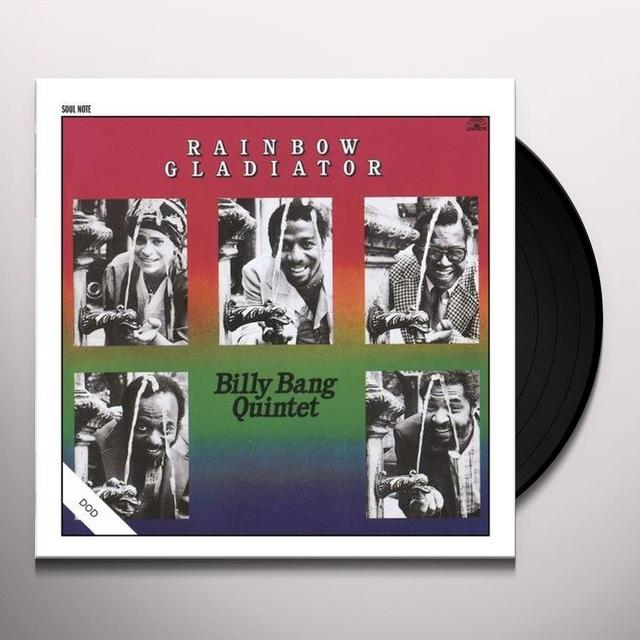 Billy Bang RAINBOW GLADIATOR Vinyl Record - Spain Import