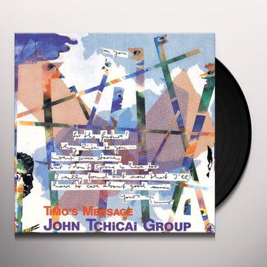 John Tchicai TIMO'S MESSAGE Vinyl Record - Spain Import