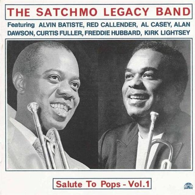 SATCHMO LEGACY BAND SALUTE TO POPS-VOL. 1 Vinyl Record