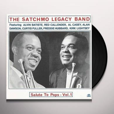 SATCHMO LEGACY BAND SALUTE TO POPS-VOL. 1 Vinyl Record - Spain Import