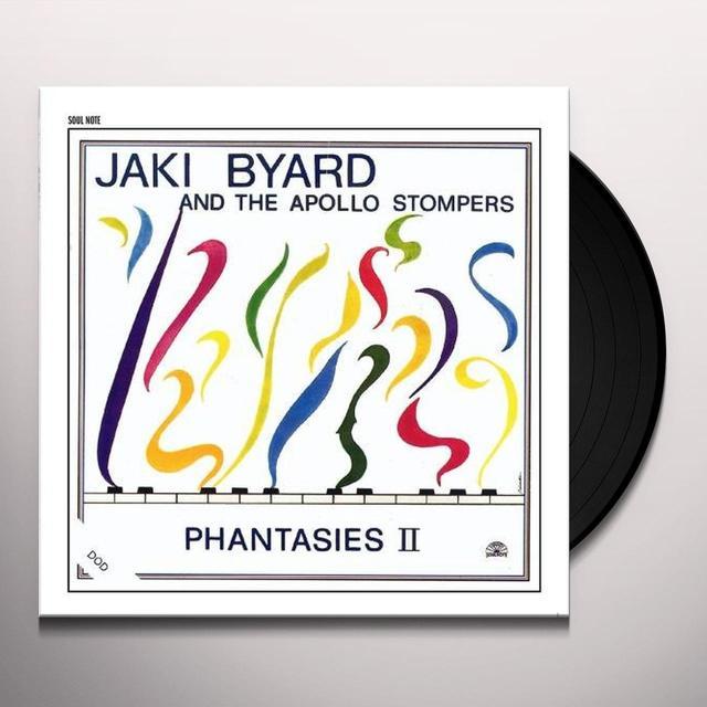Jaki Byard PHANTASIES II Vinyl Record - Spain Import