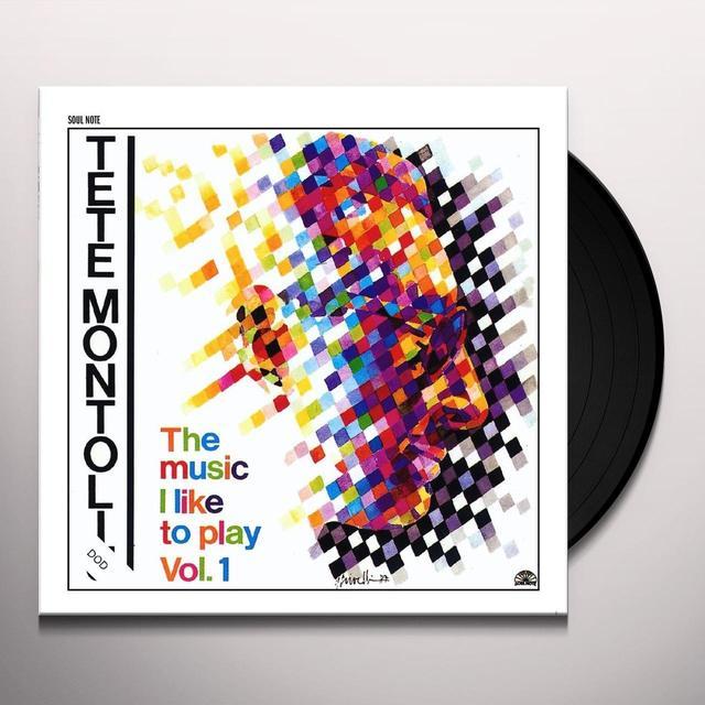Tete Montoliu MUSIC I LIKE TO PLAY-VOL. 1 Vinyl Record