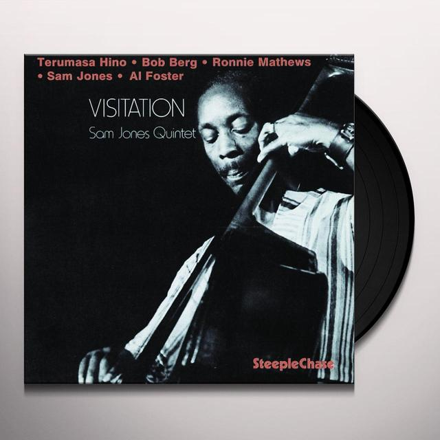Sam Jones VISITATION Vinyl Record - Spain Import