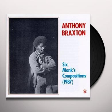 Anthony Braxton SIX MONK'S COMPOSITIONS Vinyl Record - Spain Import