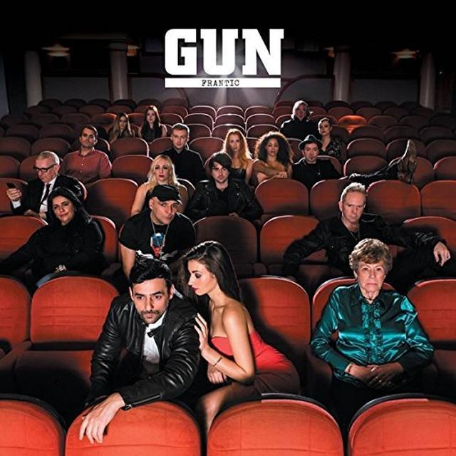 Gun FRANTIC Vinyl Record - UK Import