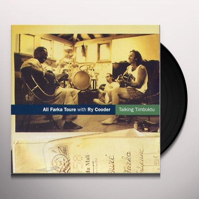 Ali Farke Toure TALKING TIMBUKTU Vinyl Record - UK Release