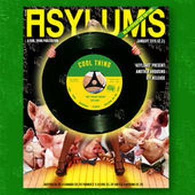 Asylums WET DREAM FANZINE / DEATH OF TELEVISION Vinyl Record
