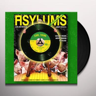 Asylums WET DREAM FANZINE / DEATH OF TELEVISION Vinyl Record - UK Import
