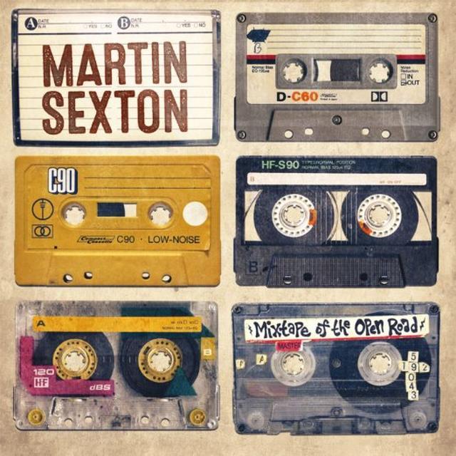 Martin Sexton MIXTAPE OF THE OPEN ROAD Vinyl Record