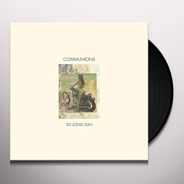 COMMUNIONS SO LONG SUN / LOVE STANDS STILL Vinyl Record