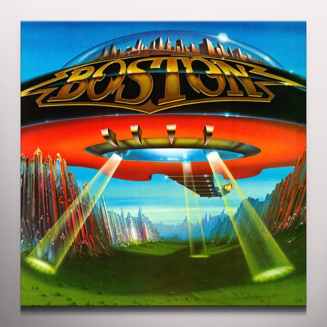 Boston DON'T LOOK BACK Vinyl Record - Clear Vinyl, Gatefold Sleeve, Limited Edition, 180 Gram Pressing