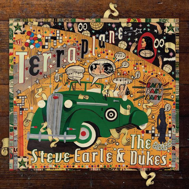 Steve Earle & The Dukes TERRAPLANE Vinyl Record