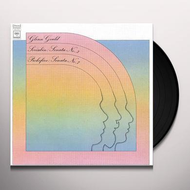 Glenn Gould SCRIABIN & PROKOFIEV - PIANO SONATAS Vinyl Record - 180 Gram Pressing