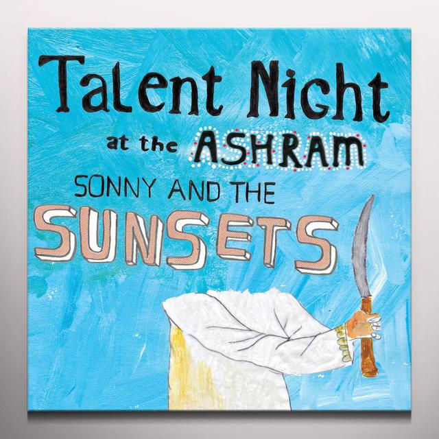 Sonny & The Sunsets TALENT NIGHT AT THE ASHRAM Vinyl Record