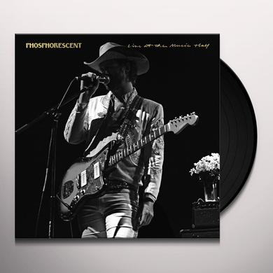 Phosphorescent LIVE AT MUSIC HALL Vinyl Record
