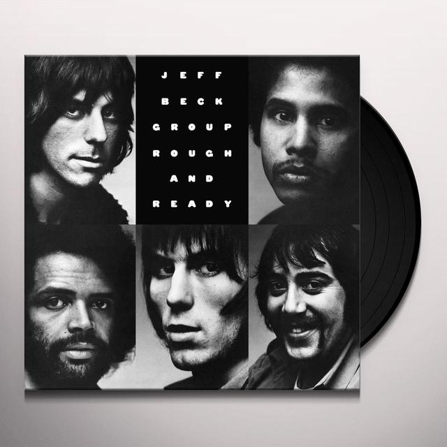 Jeff Beck ROUGH & READY Vinyl Record