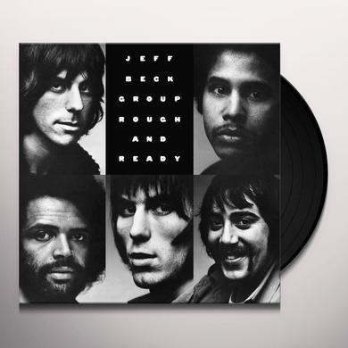Jeff Beck ROUGH & READY Vinyl Record - Gatefold Sleeve, Limited Edition, 180 Gram Pressing, Anniversary Edition