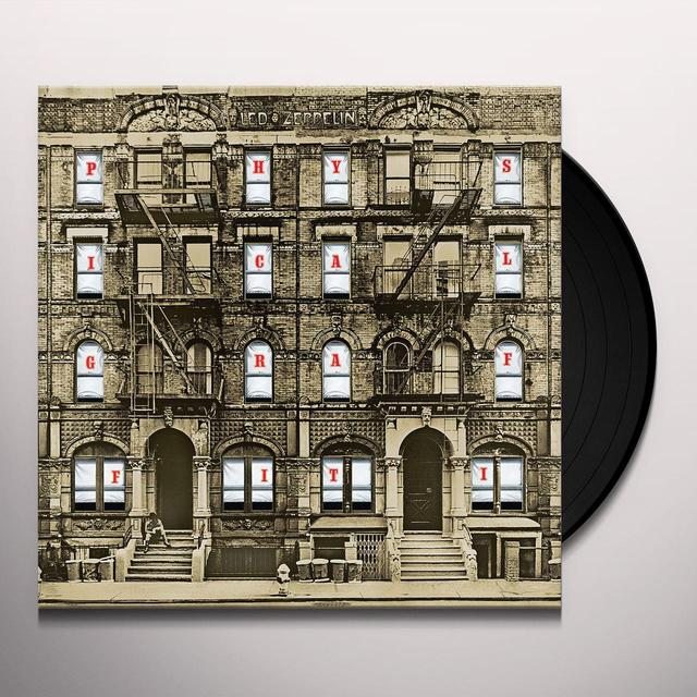 Led Zeppelin PHYSICAL GRAFFITI Vinyl Record - 180 Gram Pressing, Remastered
