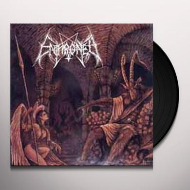 Enthroned TOWARDS THE SKULL THRONE OF SATAN Vinyl Record