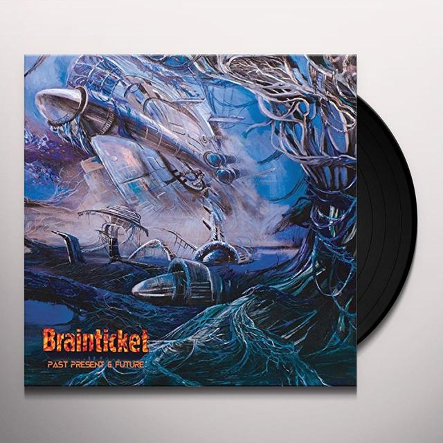 Brainticket PAST PRESENT & FUTURE Vinyl Record - Gatefold Sleeve, 180 Gram Pressing