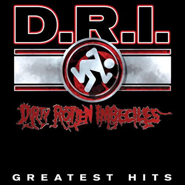 D.R.I. GREATEST HITS Vinyl Record