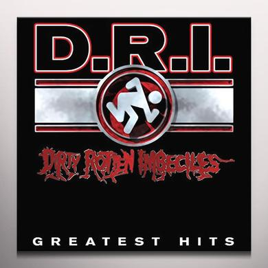 D.R.I. GREATEST HITS Vinyl Record - Clear Vinyl, Limited Edition