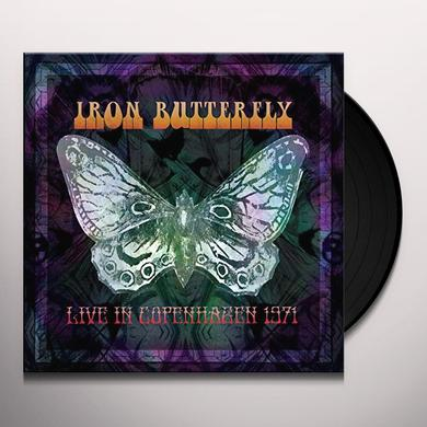 Iron Butterfly LIVE IN COPENHAGEN 1971 Vinyl Record - Limited Edition