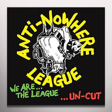 Anti-Nowhere League WE ARE THE LEAGUE UNCUT Vinyl Record - Colored Vinyl, Green Vinyl, Limited Edition