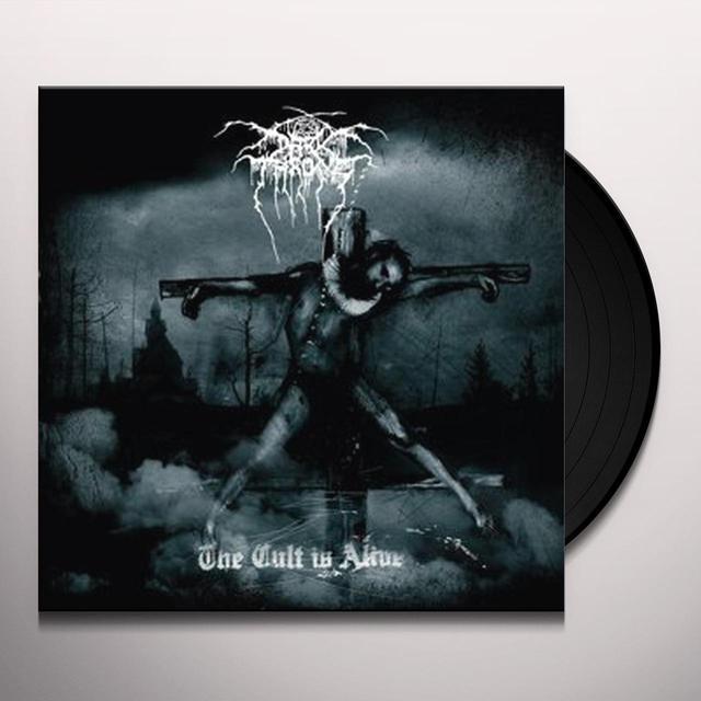 Darkthrone CULT IS ALIVE Vinyl Record