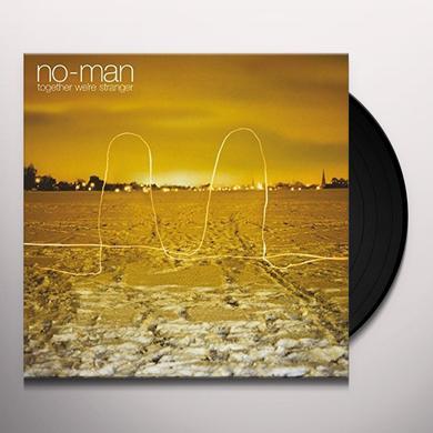 No-Man TOGETHER WE'RE STRANGER (BONUS TRACKS) Vinyl Record - Gatefold Sleeve