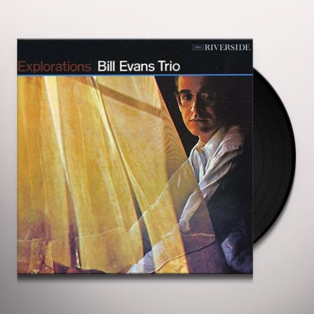 Bill Evans EXPLORATIONS Vinyl Record