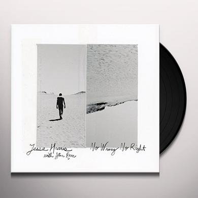Jesse Harris NO WRONG NO RIGHT Vinyl Record