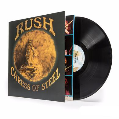 Rush CARESS OF STEEL Vinyl Record