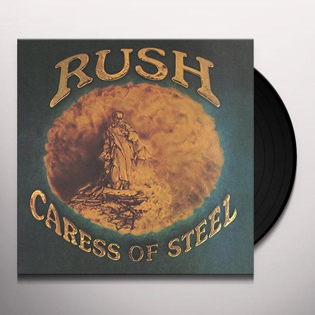 Rush CARESS OF STEEL Vinyl Record