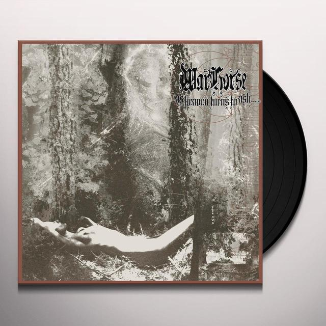 Warhorse AS HEAVEN TURNS TO ASH Vinyl Record