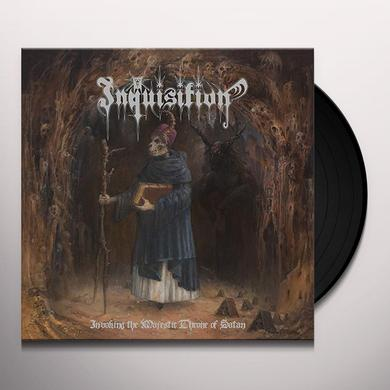 Inquisition INVOKING THE MAJESTIC THRONE OF SATAN Vinyl Record