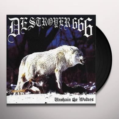 Destroyer 666 UNCHAIN THE WOLVES Vinyl Record