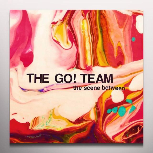 The Go! Team  SCENE BETWEEN Vinyl Record - Colored Vinyl, Pink Vinyl