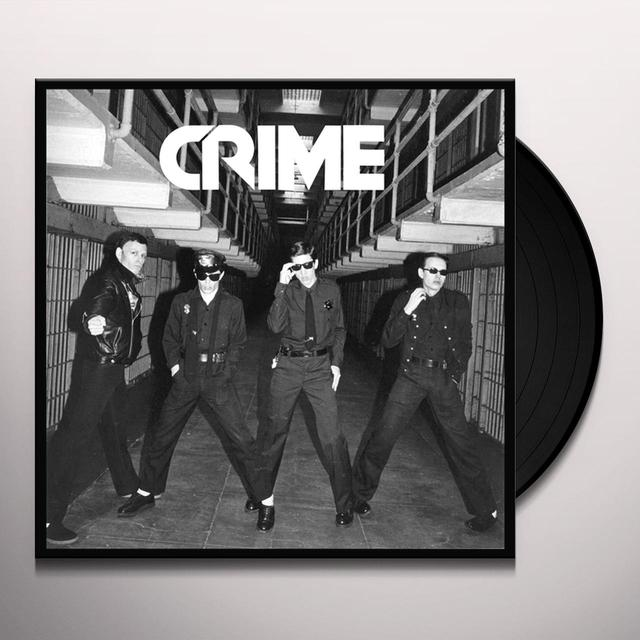 CRIME  (BOX) Vinyl Record - w/CD